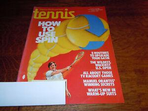 "VINTAGE NOVEMBER 1977 "" TENNIS "" SPORTS MAGAZINE"