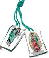 Virgen de Guadalupe San Judas Escapulario de Hilo-Knotted Mexico Scapulary