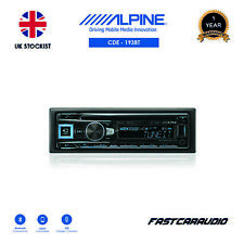 ALPINE CDE-193BT CD USB ADVANCED BLUETOOTH TUNE IT iPOD iPHONE ANDROID STEREO