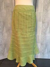 Principles Lime Green Long Skirt 12