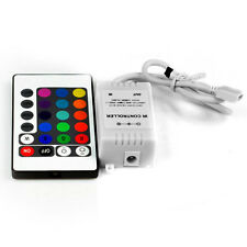 NEW 24 Key IR Remote Controller DC 12V 6A for RGB LED 3528 5050 SMD Strip Lights