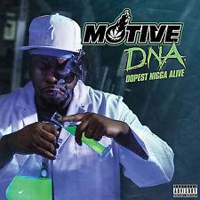 MOTIVE - D.N.A. Dopest N-gga Alive CD DEMIGODZ APATHY CELPH TITLED VINNIE PAZ
