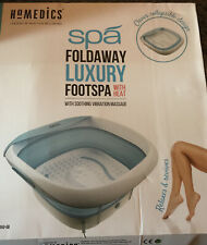 Homedics Foldaway Luxury Foot Spa Bnib