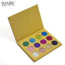 Hot 12 Colors Makeup Rainbow Eyeshadow Diamond Glitter Beauty Eye Shadow Palette 2#