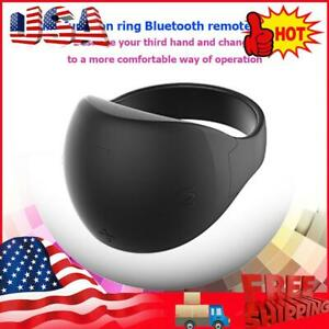 R51 Wearable Finger Ring Bluetooth Remote Control for Android Phone TV Box