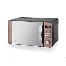 BRAND NEW + 2YRS WRNTY Swan SM22090COPN 20L - 800w Digital Microwave in Copper