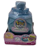 Pikmi Pops Surprise Cheeki Puffs Scented Shimmer Puff & Powder Kids Toy BLUE BOW