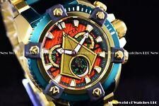 Invicta 63mm DC Comics Grand Arsenal Ltd Ed. AQUAMAN Swiss Chrono TTIP SS Watch