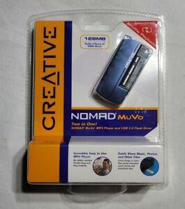 Creative Nomad MuVo Blue ( 128 MB ) Digital Media Player