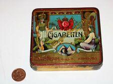 scatola latta sigarette CIGARETTEN HADGES NESSIM Hamburg - Amrak