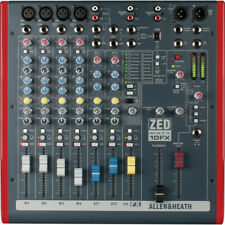 Allen and Heath Zed60-10Fx 6Ch Sixty 10 Fx Usb Mixing Studio Live Mixer *Mint*