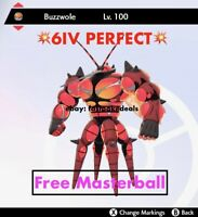 -Pokemon Sword and Shield- 💥6IV PERFECT💥Ultra Beast Buzzwole FAST DELIVERY