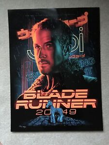 Blade Runner 2049 (Tracie Ching) Signed Black Foil Variant Print #64/100 Mondo