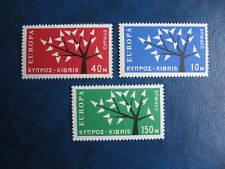 CEPT-EUROPA, set, CYPRUS, 1962, **/MNH