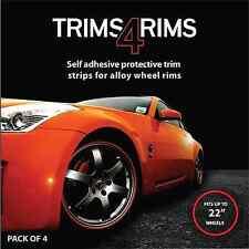 Trims4Rims 400168 Wheel Rim Protectors - White - Pack of 4