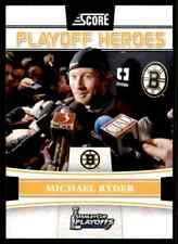 2011-12 Score Playoff Heroes Michael Ryder #1