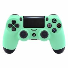 Soft Touch Mint Green Ps4 PRO Custom UN-MODDED Controller CUH-ZCT2U