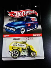 2010 Hot Wheels Delivery Slick Rides 16/34 Mooneyes Cool-One - Yellow