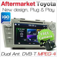 Car DVD GPS Digital TV Player Stereo USB For Toyota Aurion Sportivo SX6 ZR6 ATX