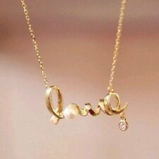 Promotion fashion chic LOVE word necklace fashion necklace Jewellery