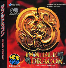 Double Dragon SNK NEO GEO CD AES Import Japan