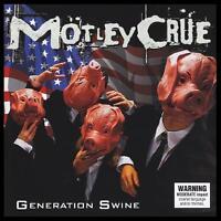 MOTLEY CRUE - GENERATION SWINE D/Rem CD w/BONUS *NEW*