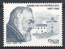 1998 ITALIA PADRE PIO DA PETRALCINA MNH **