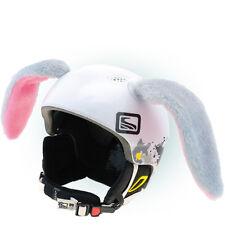 Hasenohren Helmohren für Skihelm Helmet Ears Helm Kaninchen Kaninchenohren Hase