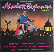 ABSOLUTE BEGINNERS THE MUSICAL LP