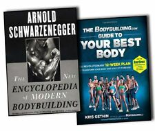 The New Encyclopedia of Modern Bodybuilding & Guide to your best body 2 Books BN