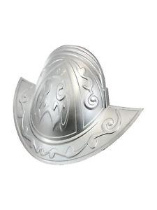 Deluxe Conquistador Silver Morion Knight John Smith Spanish Helmet Hat Accessory