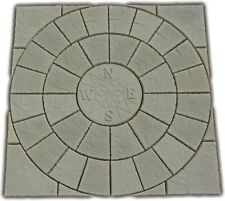 Compass Rotunda Circle + sq off kit paving patio slabs (Delivery exceptions)