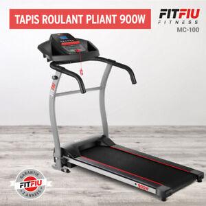 Tapis Roulant elettrico cardio pieghevole richiudibile 900W 10km/h inclinazione