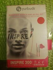 Yurbuds Inspire 300 Sport Stereo Headset earphones For iPhone Samsung - Pink