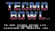 TECMO BOWL (  JEUX NINTENDO NES  ) GAME ONLY