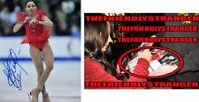 ELIZAVETA TUKTAMYSHEVA signed 8X10 PHOTO G - EXACT PROOF - Figure Skating COA
