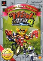UsedGame PS2 Ratchet Clank 4th Girigiri Gingano Giga-battle from Japan