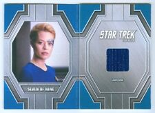 "SEVEN OF NINE ""RELIC CARD #RC37"" STAR TREK 50TH ANNIVERSARY"