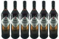 Vana Tallinn Rum Likör 6er Set (6 x 1L) 40% vol. Estland Spirituose SPARSET