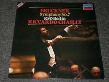 Bruckner: Symphony No. 7~RSO Berlin~Riccardo Chailly~European IMPORT~FAST SHIP!