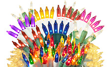Mini Christmas Lights Set Steady Mini Light String Lighting Holiday 50 LHT 33FT