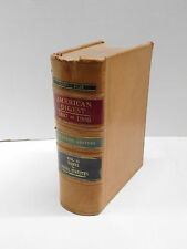 American Law Digest 1897 to 1906 Decennial Edition Vol. 15  Leather Decorative