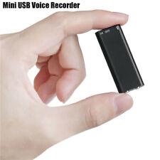 Mini Spy Audio Recorder Voice Listening Device 96 Hours 8GB Bug Recording Pop
