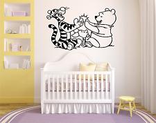 Winnie the Pooh Pegatinas Dibujos Animados Etiqueta de la Pared Arte chicos/chicas habitación Cool CH4
