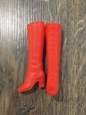 Beautiful Vintage Barbie Doll Boots.