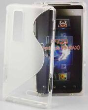 Rubber Case Wave für LG P720 Optimus 3D Max in transparent Silikon Skin Hülle