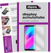 2x Cubot J3 Schutzfolie klar Displayschutzfolie Folie Display Schutz Dipos