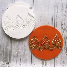 Henna, Mehndi Cupcake embossing mat, silicone texture mat  Ellam Sugarcraft M271