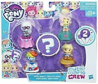 My Little Pony Cutie Mark Crew PARTY STYLE Figure Set Pack Playset by Hasbro