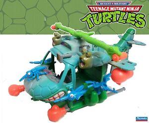 TMNT Mutant Millitary TurtleCopter  Working Near complete 1990 ninja turtles